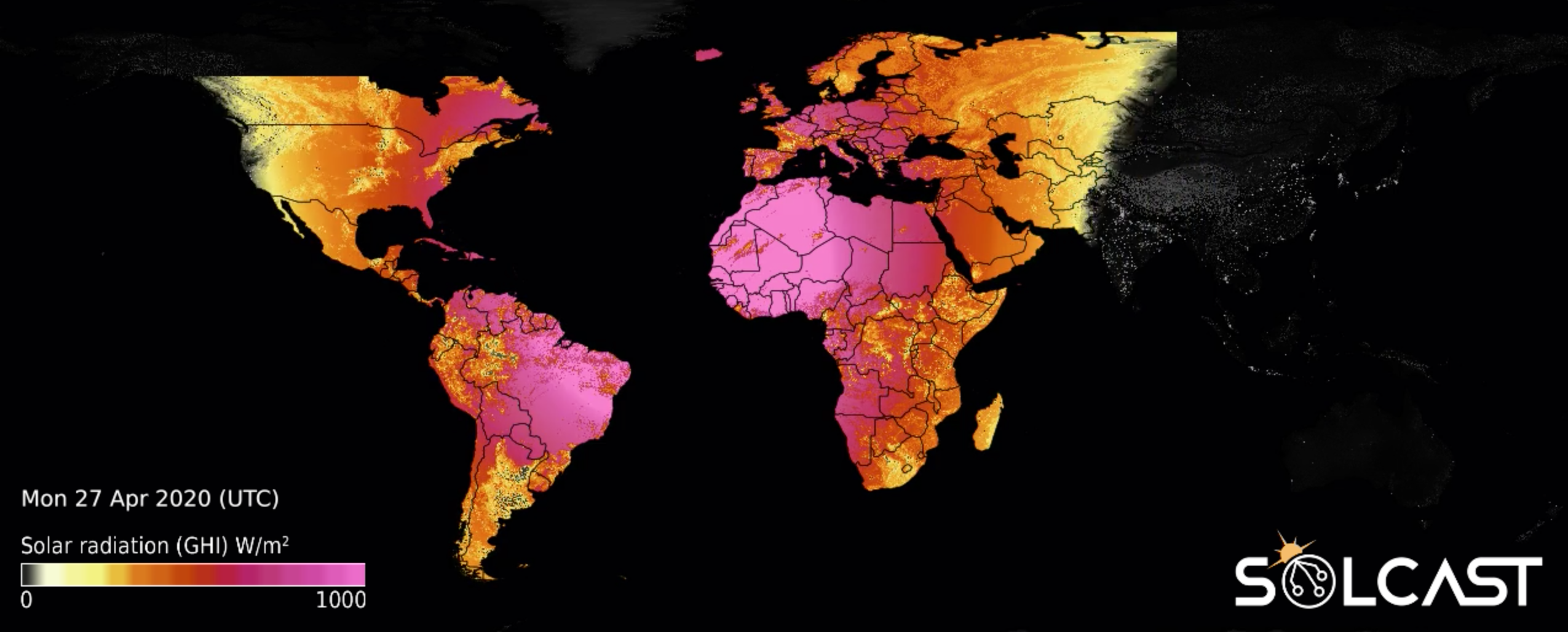 Browsable global solar radiation maps are live