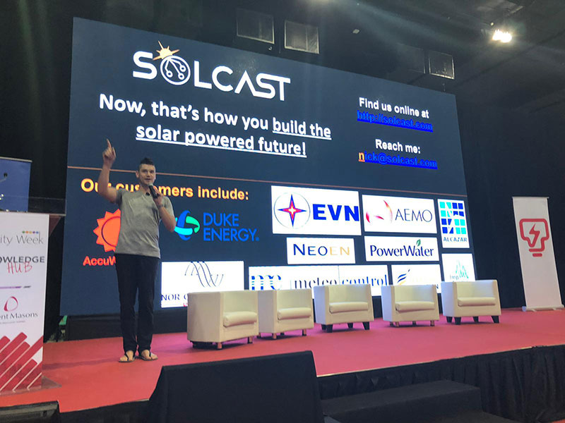 Asia Utility Week - Solar Irradiance Data Nowcasting Technology