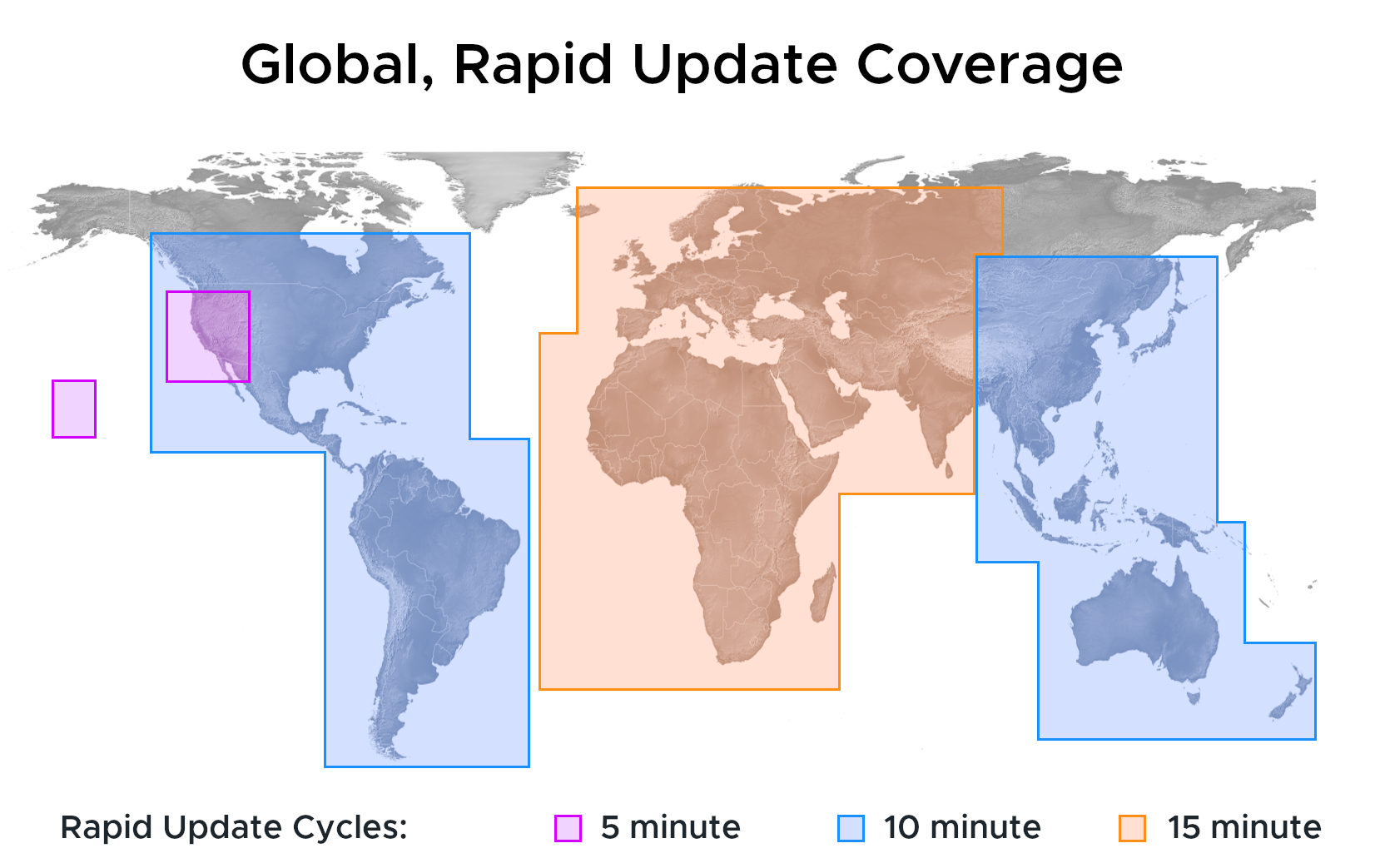 Solcast Rapid Update Coverage